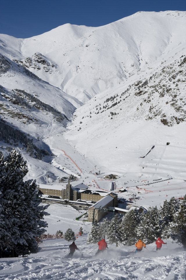 Resort's opening forecast for Vall de Núria