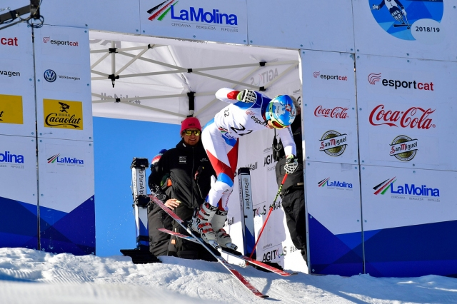 Six different countries win gold in the last Para Alpine Skiing World Cup Giant Slalom race of the season in La Molina