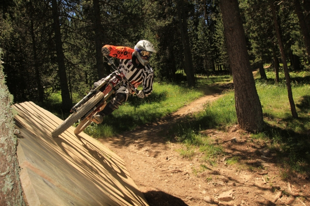 Improvement works in La Molina ski lifts will affect the Bike Park service