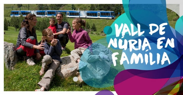 New offer on Vall de Núria Rack Railway tickets: kids travel for free