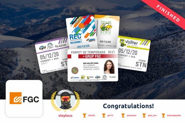 Discover the winners of the Skithon challenge at the FGC stations of the 2019/20 season