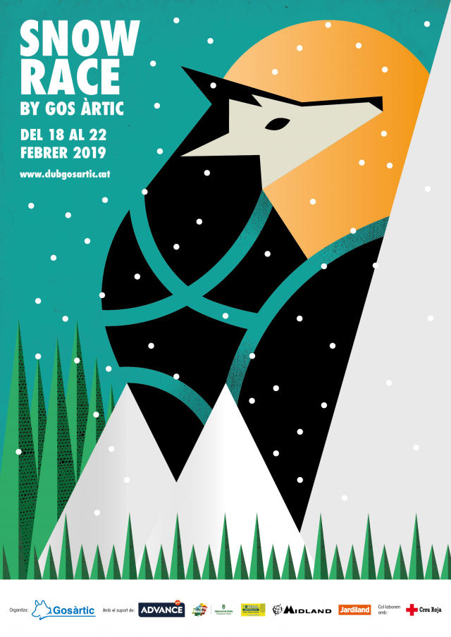 First edition of the Snow Race by Gos Àrctic